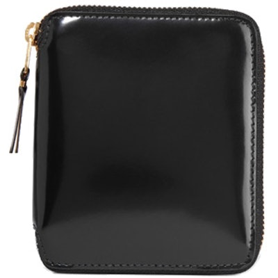 Glossed Leather Wallet