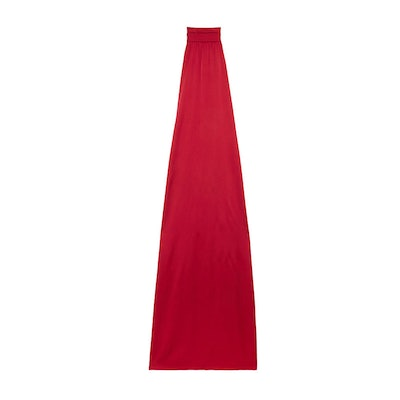 Darby Open-Back Column Gown