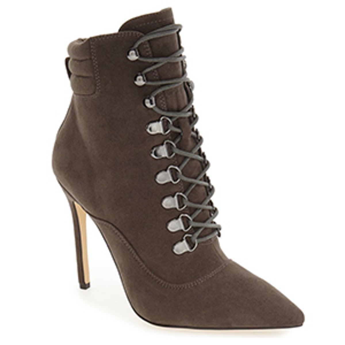 Kettle Corset Lace Pointy Toe Boot
