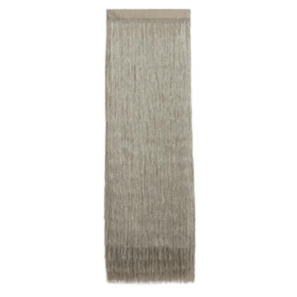 Delilah Metallic Fringed Skirt