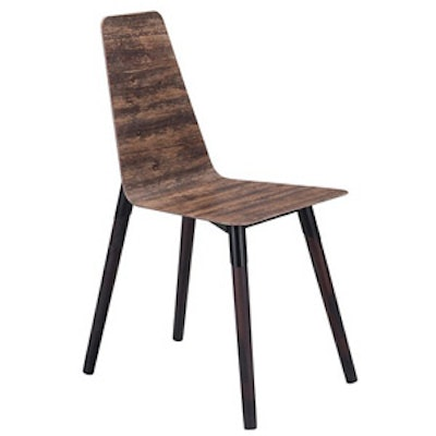 Dining Chair Distressed Brown