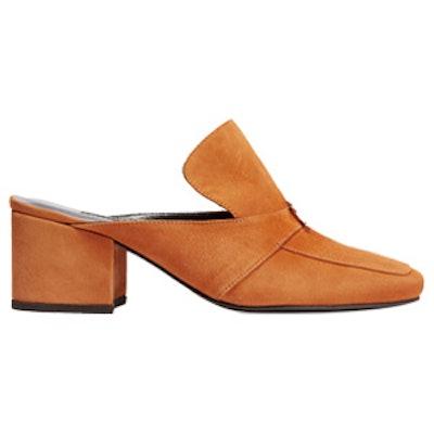 Seyma Suede Slippers