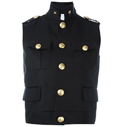 Army Sleeveless Military Jacket