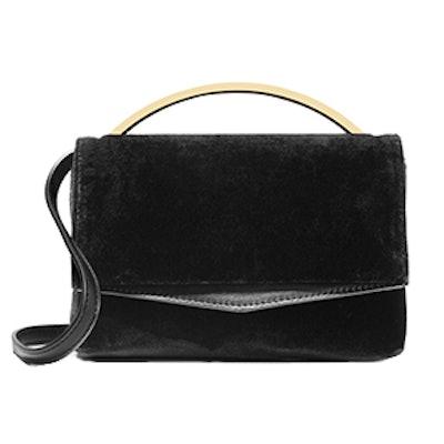 Boyd Vanity Leather-Paneled Bag