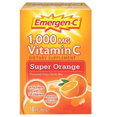 Super Orange Flavored Vitamin C Drink Mix