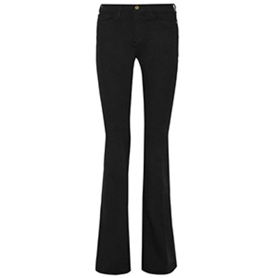 Le Forever Karlie Flare High-rise Jeans