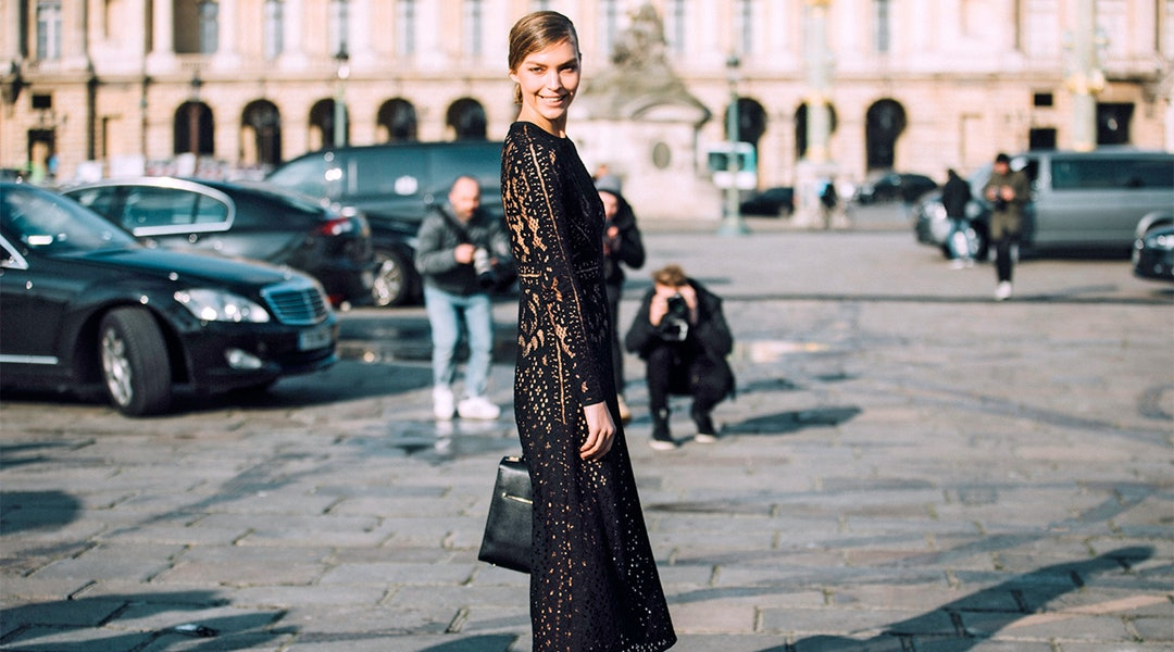 3 Ways To Style A Black Lace Dress