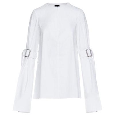 White Belt Sleeve Shirt