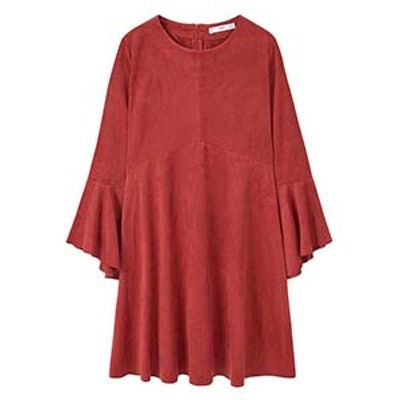 Flared Sleeves Dress