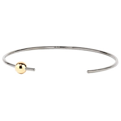 Orion Gold And Rhodium-Plated Choker