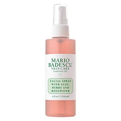 Facial Spray with Aloe, Herbs, & Rosewater