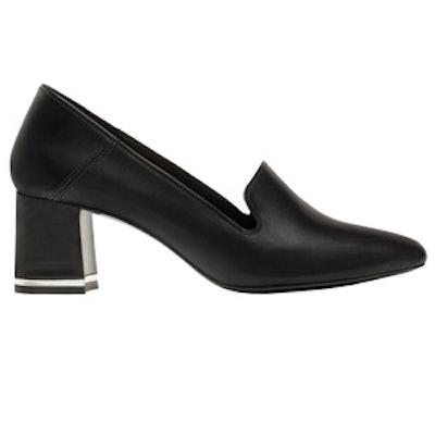 Black High Heel Babouches
