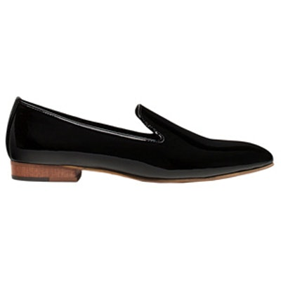 Patent Leather Slipper