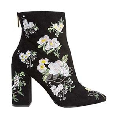 Embroidered Boot