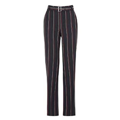 Stripe Belted Trouser