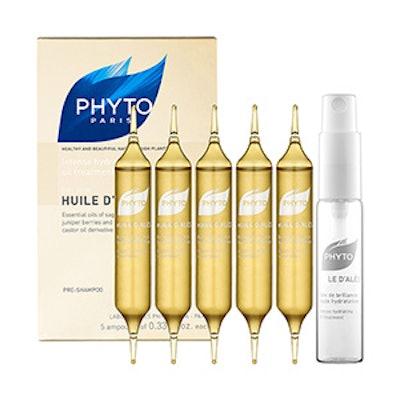 Huile D'Alès Dry Hair Intense Hydrating Oil Treatment