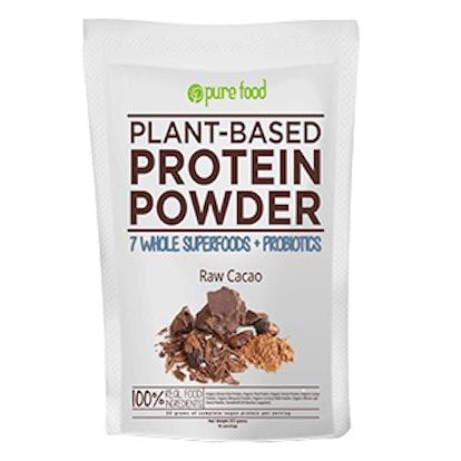 Plant Protein Powder with Probiotics: Raw Cacao
