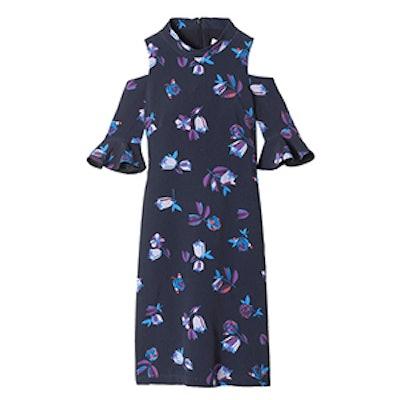 Bellflower Print Dress