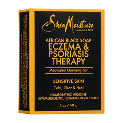 SheaMoisture Eczema & Psoriasis Therapy African Black Soap (Pack of 2)