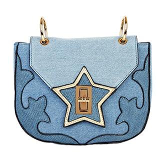 Denim Vixen Crossbody Bag