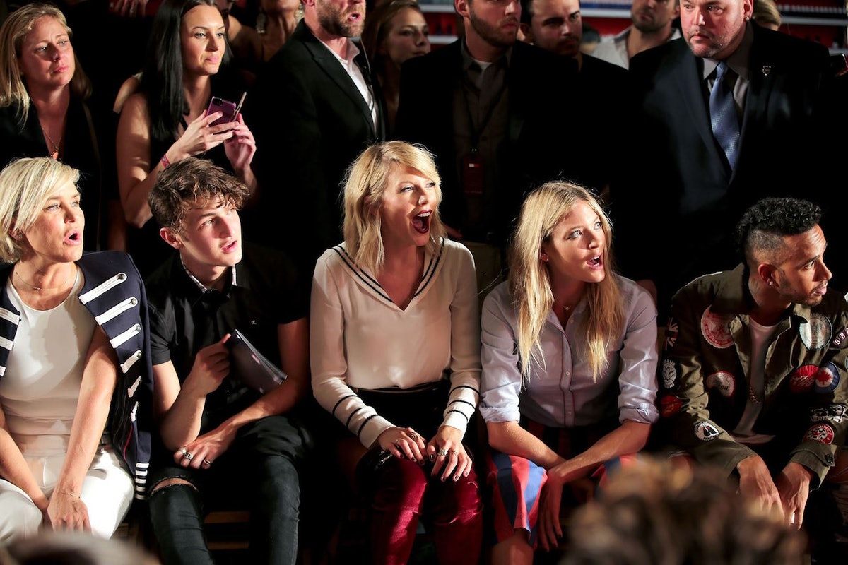 Taylor Swift Broke The Internet At The Tommy Hilfiger Fashion Show