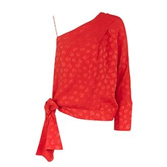 Asymmetric Sash Top by Boutique
