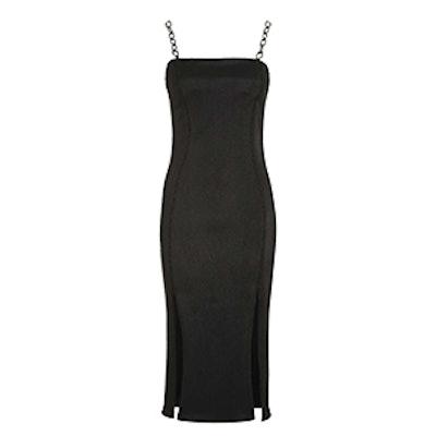Chunky Chain Midi Dress