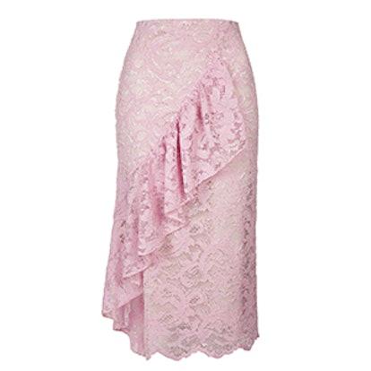 Lace Ruffle Skirt