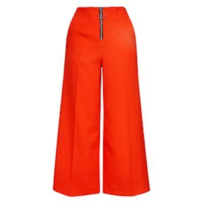 Ring Zip Wide Trouser