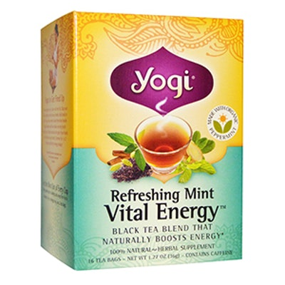 Refreshing Mint Vital Energy Tea (16 pack)