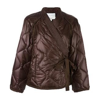 Padded Kimono Jacket