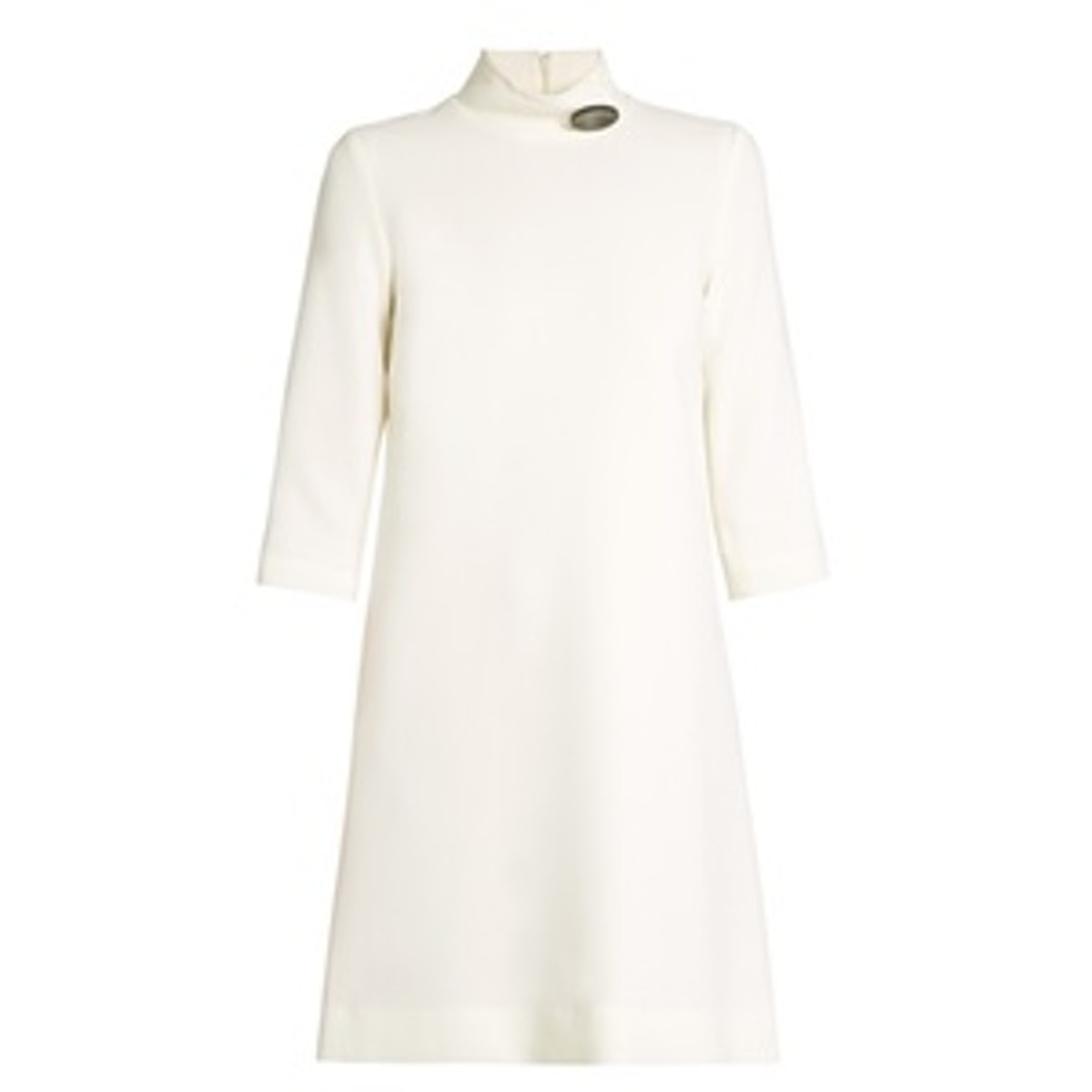 Cupid Button-Detail Dress