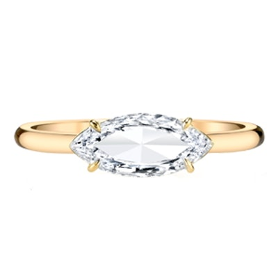 Marquis Cut Diamond Ring