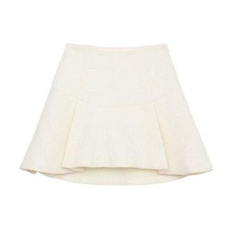 Brianna Pressed Mohair Skirt