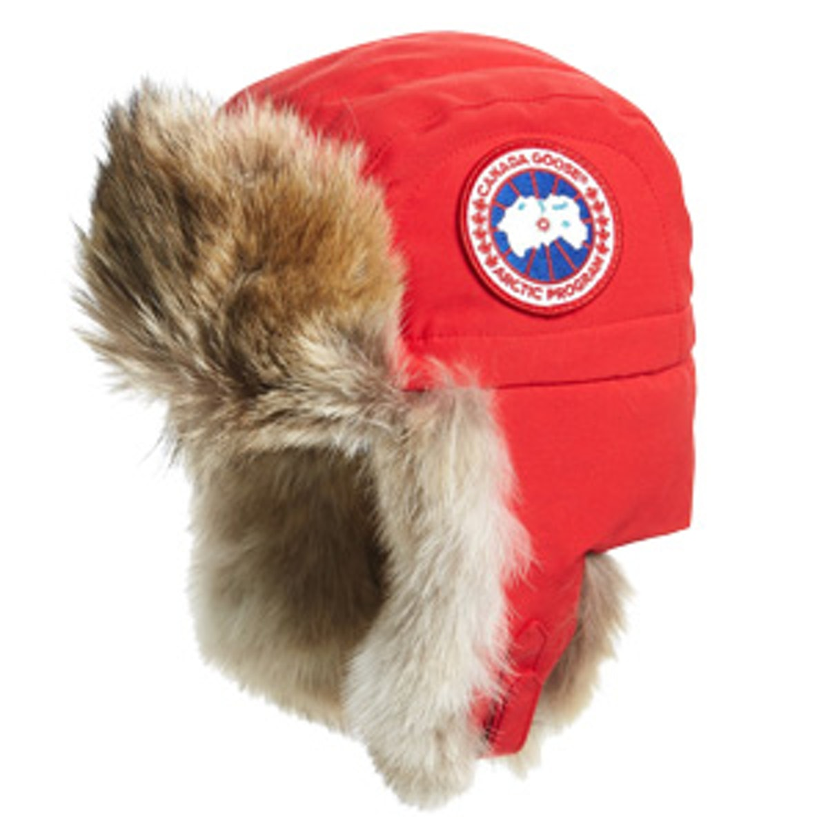 Aviator Hat with Genuine Coyote Fur Trim