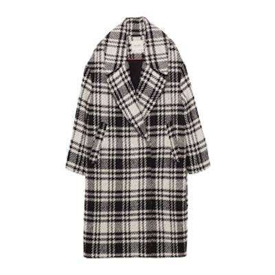 Check Maxi Coat