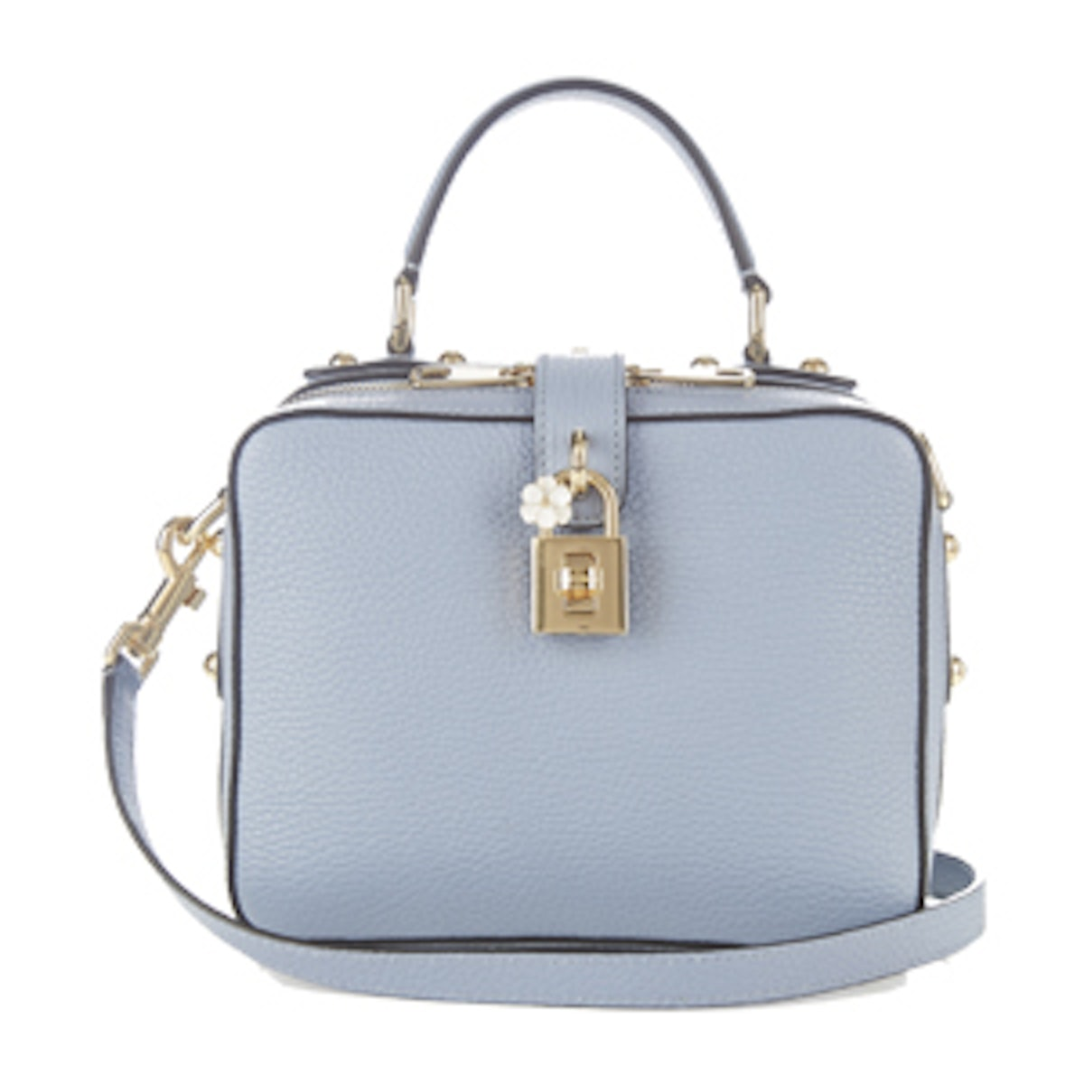 Dolce Soft Leather Box Bag