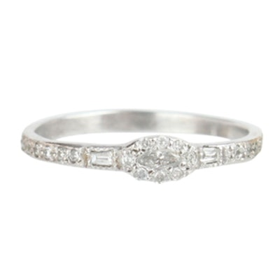 Anna Karenina Marquise Diamond Ring
