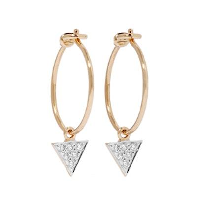 14-Karat Gold Diamond Earrings