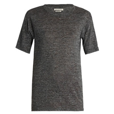 Keiran Short-Sleeved Linen T-Shirt