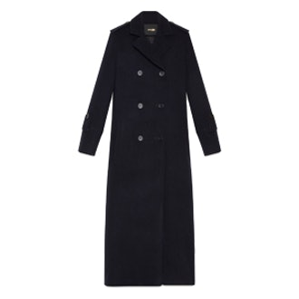 Long Military-Style Coat
