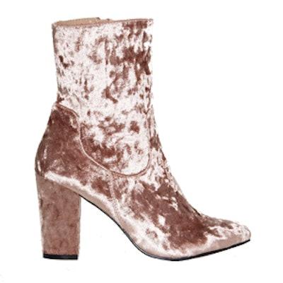 Tibby Velvet Boot