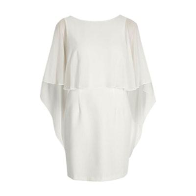 Cape Bodycon Dress
