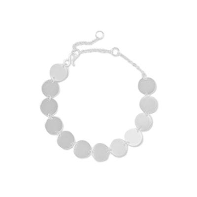 Pailettes Silver Bracelet