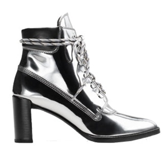 The Gigi Boot in Iron Grey