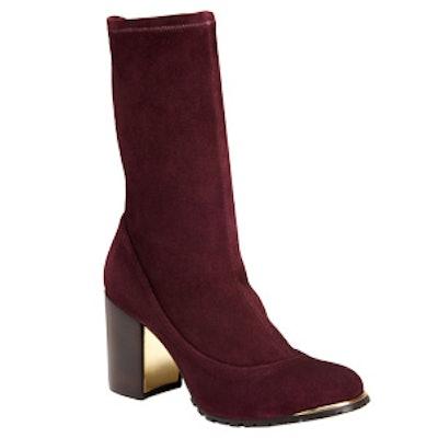 Tara Stretch Suede Boots