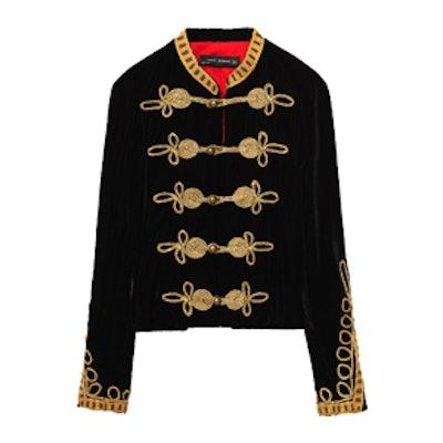 Velvet Toggle Jacket