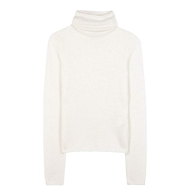 DWYN Mohair and Wool-Blend Turtleneck Sweater