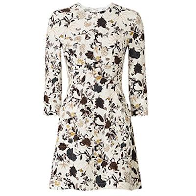 Terry Print Pocket Dress