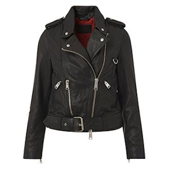 Gidley Leather Biker Jacket